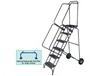 FOLD-N-STORE ROLLING LADDER